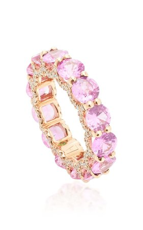 Holy 18K Gold, Sapphire And Diamond Ring by Luisa Alexander | Moda Operandi
