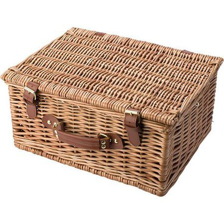 Eco 2 Person Willow Picnic Basket | Buy Online in South Africa | takealot.com