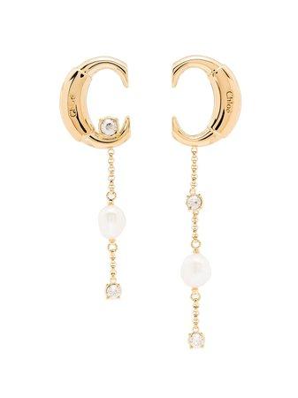 Chloé C Drop Earrings - Farfetch