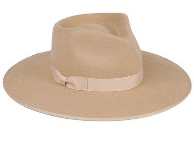'ranch' cowboy nude camel cream hat