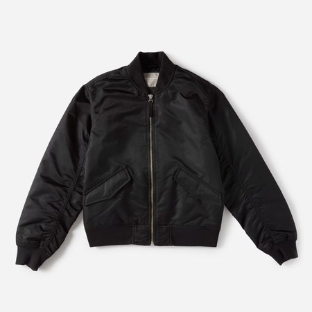 Everlane Black Bomber Jacket