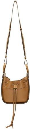 Tan Mini Hammock Bag