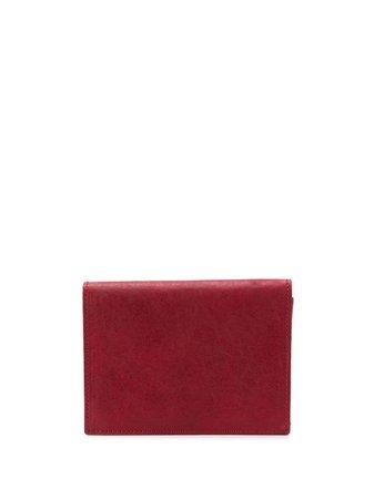 Ann Demeulemeester Bi-Fold Purse 19028224W323 Red | Farfetch