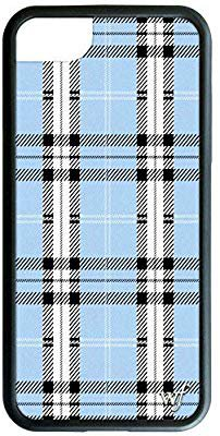 Amazon.com: Wildflower Limited Edition iPhone Case for iPhone 6, 7, or 8 (Blue Plaid): Cell Phones & Accessories