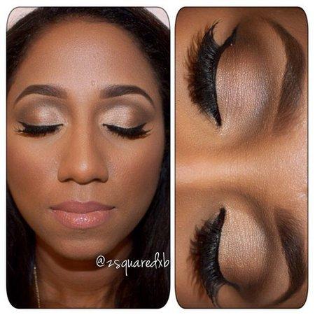Natural Eye Makeup Dark Skin 1