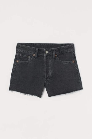 Vintage High Shorts - Black