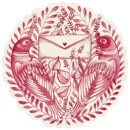 Die-Cut Love Letter Placemat – Hester & Cook