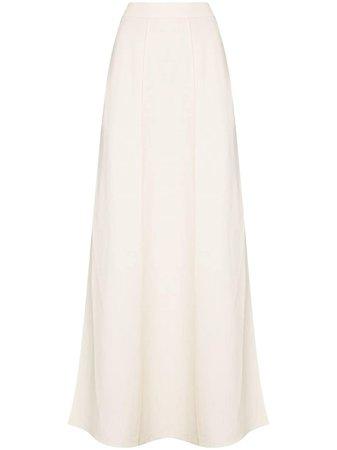 Brunello Cucinelli, side slit maxi skirt