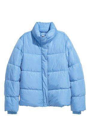 Padded jacket | Light blue | LADIES | H&M ZA