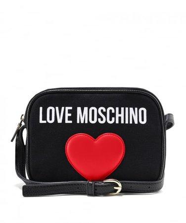 Love Moschino Canvas Logo Clutch Bag | Jules B