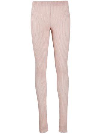 Jil Sander ribbed-knit Split Leggings - Farfetch