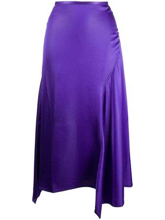 Acne Studios Asymmetric Hem Skirt - Farfetch