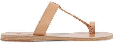 Melpomeni Leather Sandals