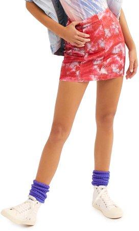 Modern Femme Denim Miniskirt