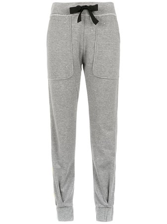 Andrea Bogosian side stripe joggers £448 - Shop SS19 Online - Fast Delivery, Free Returns