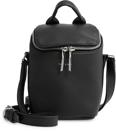Bravemicro Vegan Leather Crossbody Bag