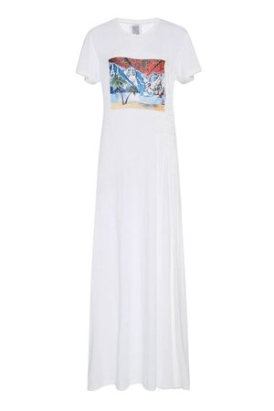 Rosie Assoulin Impossible Landscape Tee Shirt Dress