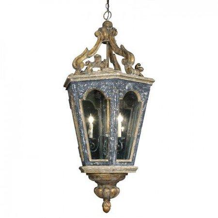 Vintage French Quarter Lantern Chandelier | Belle Escape