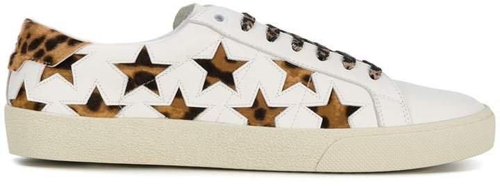 leopard Signature Court SL/06 California sneakers