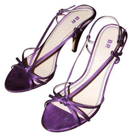 Vero Cuoio Purple Dazzle Sandals Size US 9 - Tradesy