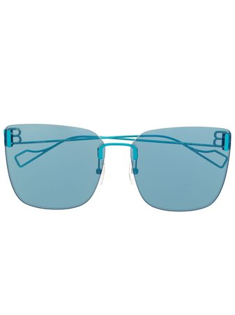 Balenciaga Eyewear cat-eye BB Sunglasses - Farfetch