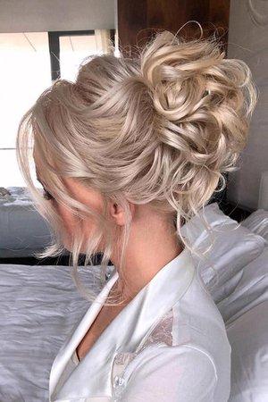Best 2020 Wedding Updos Ideas For Every Bride | Bride hairstyles, Medium hair styles, Romantic hairstyles