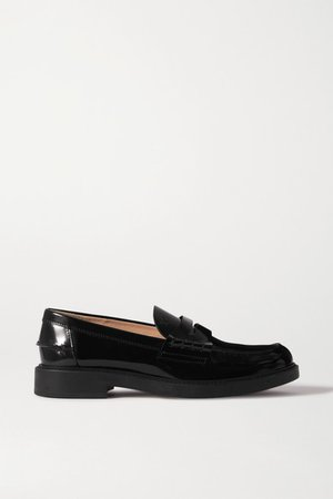 Patent-leather Loafers - Black