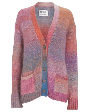 RE/DONE 90s Oversized Cardigan | INTERMIX®