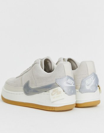 Sand Air Force 1 Jester Sneakers