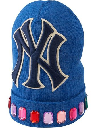 Gucci Wool hat with NY Yankees™ patch $530 - Buy SS19 Online - Fast Global Delivery, Price