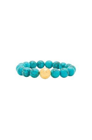 Power Gemstone Statement Bracelet
