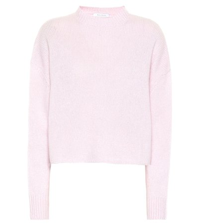 Exclusive to Mytheresa – cashmere and silk cropped sweater