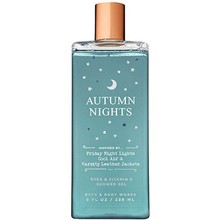 Amazon.com: Bath and Body Works AUTUMN NIGHTS Shea and Vitamin E Shower Gel 8 Fluid Ounce: Home & Kitchen