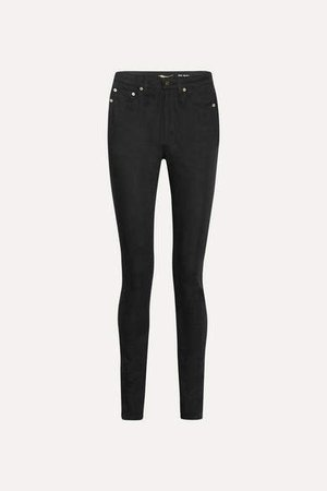 High-rise Skinny Jeans - Black