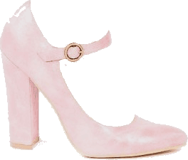 pink mary jane pump