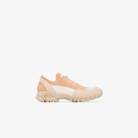 beige Possagno suede sneakers