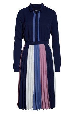 1901 Colorblock Midi Dress | Nordstrom