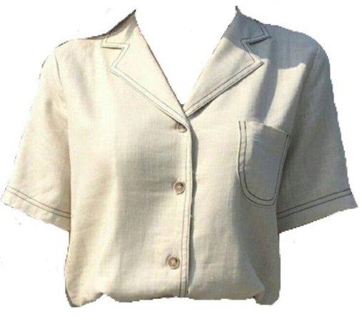 white blouse !