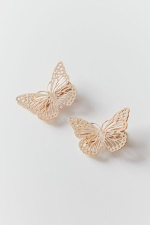 Butterfly Hair Clip Set | Urban Outfitters
