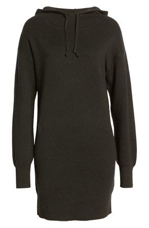 BP. Long Sleeve Hoodie Sweater Dress | Nordstrom