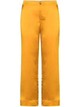 Asceno Antibes Cropped Trousers - Farfetch