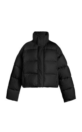 Bb Padded Shell Short Puffer Coat By Balenciaga   Moda Operandi