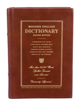 Kate Spade New York Modern English Dictionary Book Clutch - Handbags - WKA105875 | The RealReal