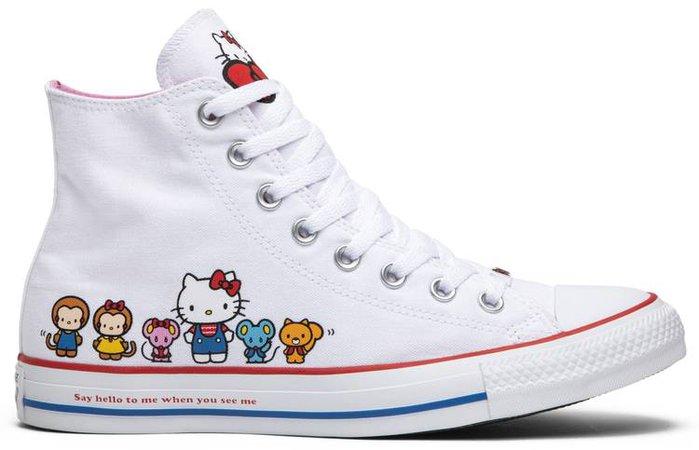 Hello Kitty x Chuck Taylor All Star Canvas Hi 'White' - Converse - 162944C   GOAT