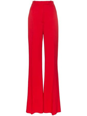 golden goose pants red