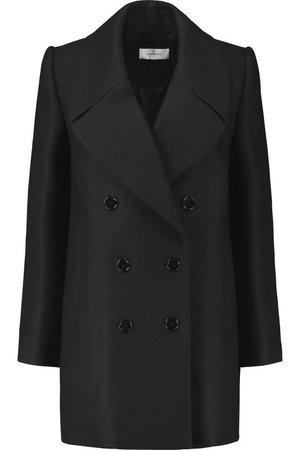 CARVEN Wool-blend twill coat.