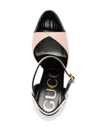 Gucci colour-block pumps