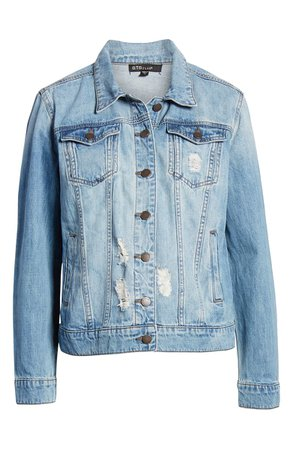 STS Blue Ella Boyfriend Denim Jacket | Nordstrom