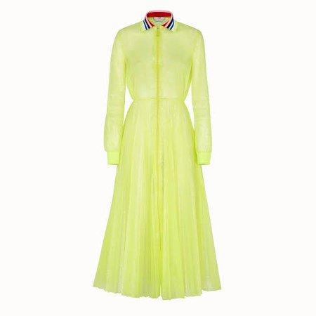 fendi roma amor nylon dress