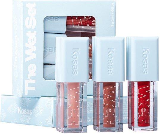 Mini Wet Lip Oil Gloss Set